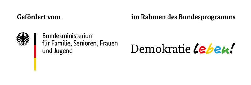 Demokratie Leben Logo